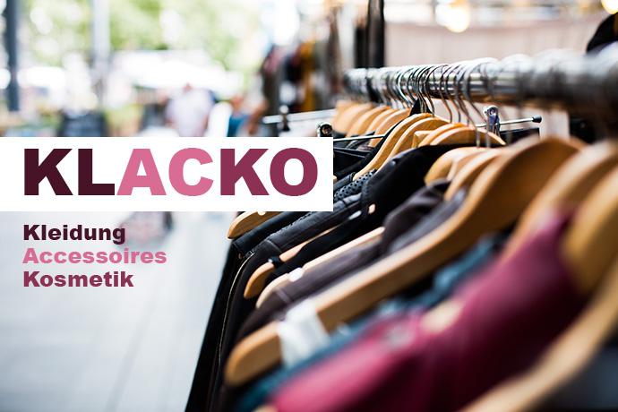 purchase cheap d1d94 95e11 KLACKO - Kleidung, Accessoires, Kosmetik - DV Reichenstrasse ...